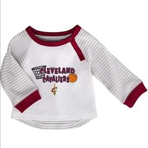 Baby NBA Cleveland Cavaliers Tee NWT 3 months